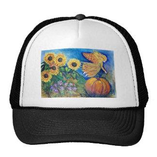 Fall Pumpkin Fairy Trucker Hat