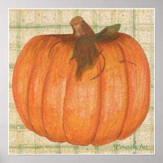 Fall Pumpkin Poster