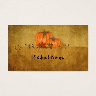 Fall Pumpkins Hang Tag