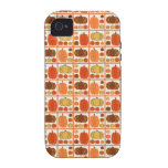 Fall Pumpkins iPhone 4 Covers