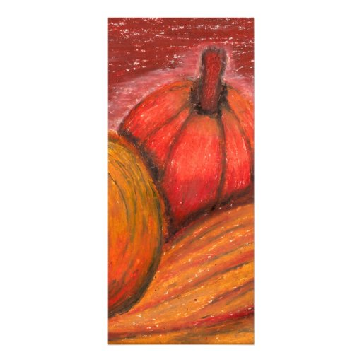Fall Pumpkins Personalized Rack Card