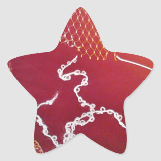 fall red brown leaves sticker