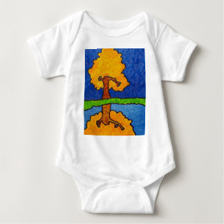 Fall Reflections Baby Bodysuit