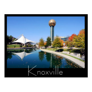 Fall reflections from the Sunsphere Postcard