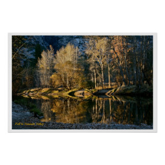 FALL REFLECTIONS IN YOSEMITE VALLEY PRINT