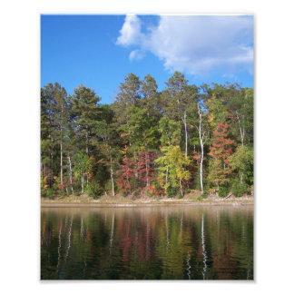 Fall Reflections Art Photo