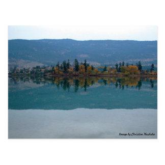 Fall Reflections Postcard