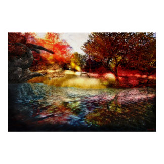 Fall Reflections - Poster/Print Poster