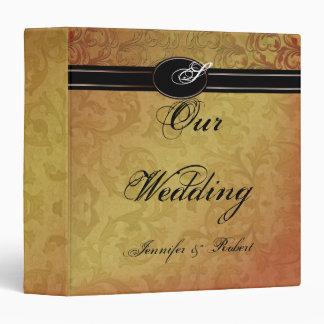 Fall Regency Wedding Binder