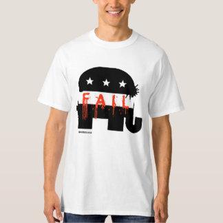 Fall republicano - humor de Politiclothes - .png Playera
