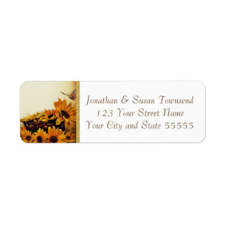Fall Return Address Label