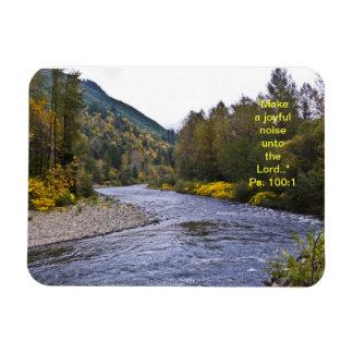 Fall River Magnet w/Scripture Verse