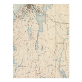 Fall River, Massachusetts Postcard