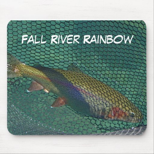 Fall River Rainbow Mouse Pad