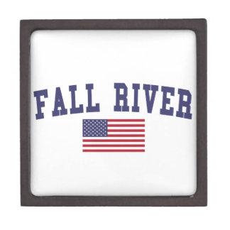 Fall River US Flag Gift Box