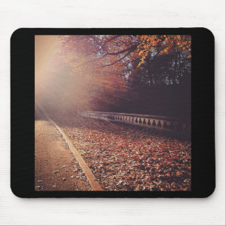 Fall Road Mouse Pad