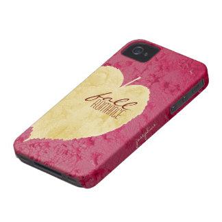 Fall romance iPhone 4 case