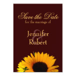 """Fall Save the Date Announcement 5"""" X 7"""" Invitation Card"""