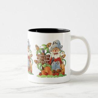 Fall Scarecrow Holiday seasonal coffee mug