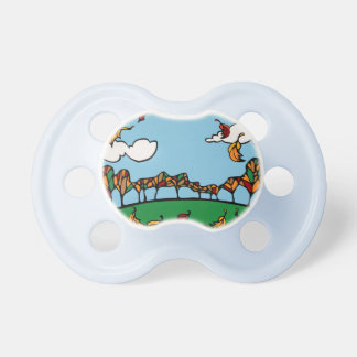 Fall Scene BooginHead Pacifier