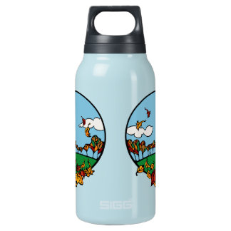 Fall Scene Insulated Water Bottle