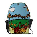 Fall Scene Messenger Bag