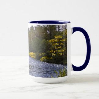 Fall Scenery Mug w/Scripture Verse