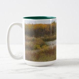 fall scenes mug
