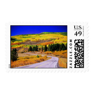 Fall, Scenic Byway 12, Utah postage stamp