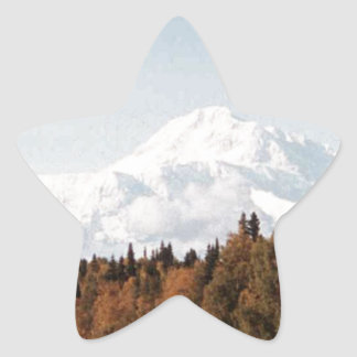 FALL SCENIC PHOTO STAR STICKER