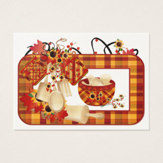 Fall Season Enclosure Card / Tag - SRF