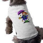 Fall Season Girl Pet Tee Shirt