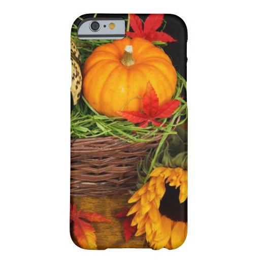 Fall Season Harvest Happy Thanksgiving iPhone 6 Case
