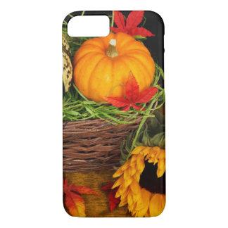 Fall Season Harvest Happy Thanksgiving iPhone 7 Case