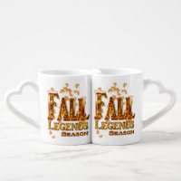 Fall Season of Love Coffee Mug Set