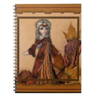 Fall Season Queen :: Fantasy Girl Notebook