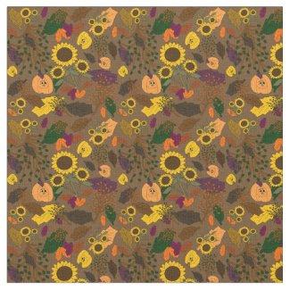 Fall Seasonal Custom Fabric