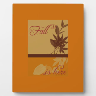 FALL Seasonal Decorative Picture framed art Plaque