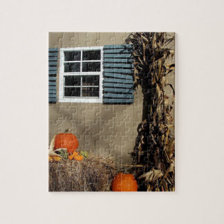 Fall Shed Jigsaw Puzzle