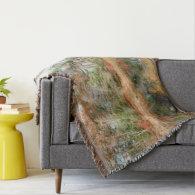 Fall Shoreline Throw Blanket