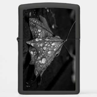 Fall Showers Zippo Lighter