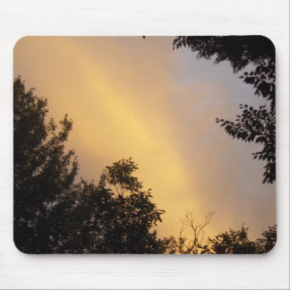 Fall Sky Clouds sunset Mouse Pad