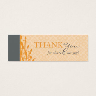 Fall Sophisticate TY Skinny Card