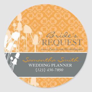Fall Sophistication Business Sticker