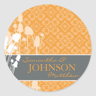 Fall Sophistication Sticker