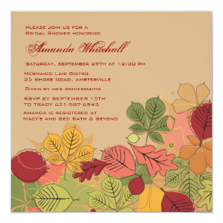 Fall Spectacle Invitation