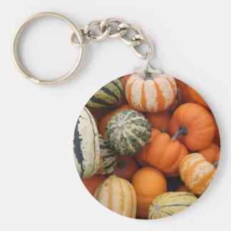 Fall Squash Harvest Key Chains
