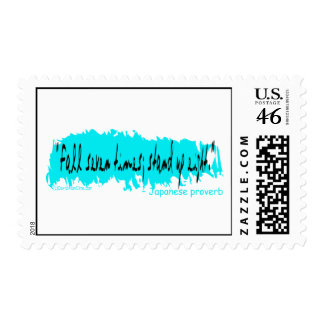 FALL STAND PROVERB XL POSTAGE STAMPS