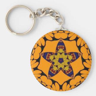 Fall Star Keychain