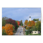 Fall Steeples Greeting Card